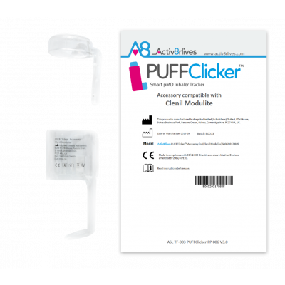 PUFFClicker Accessory compatible with Clenil® Modulite®
